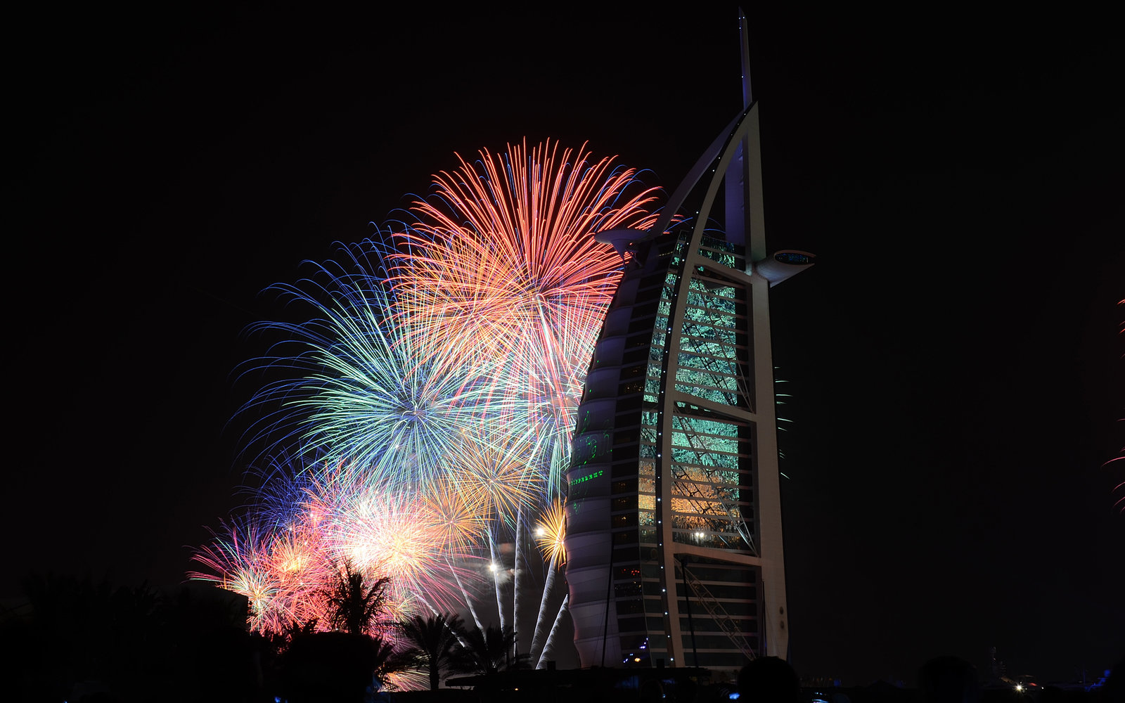Dubai United Arab Emirates New Year's Eve