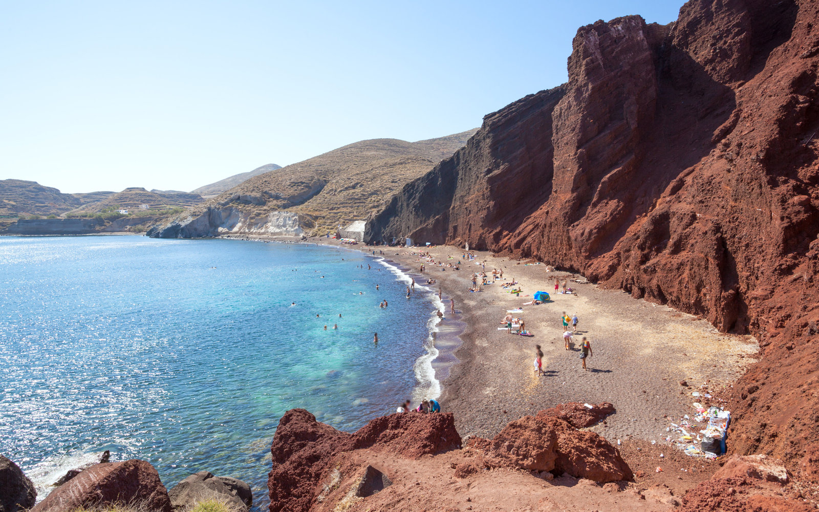 Beach, Santorini, Greece