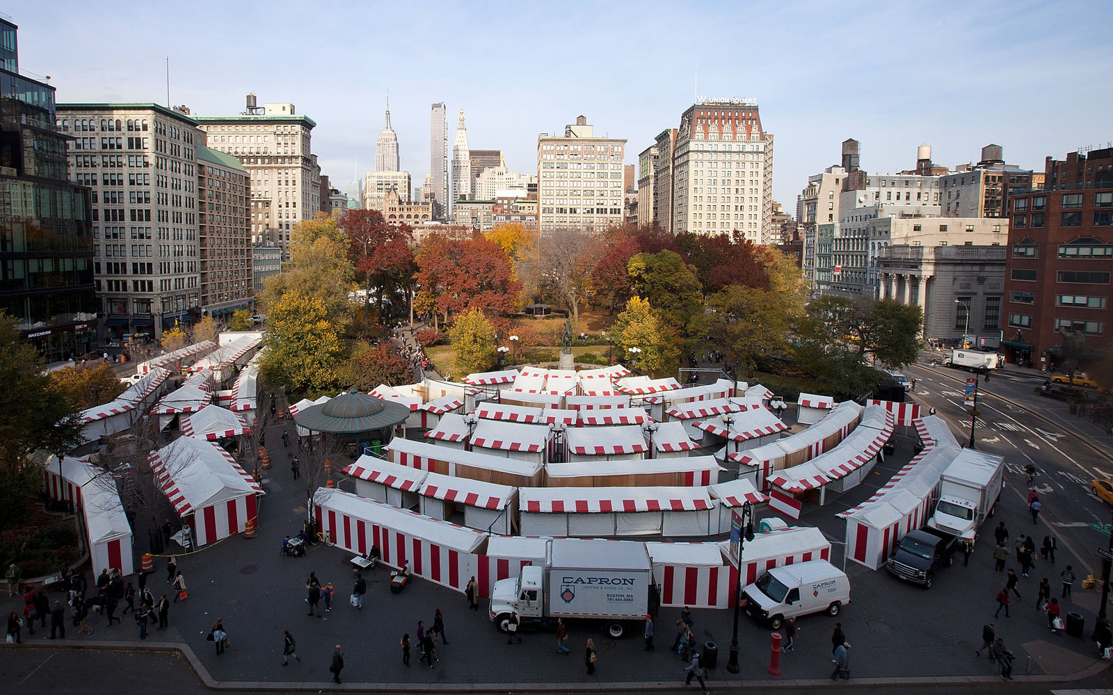 What to See at the Union Square Christmas Market | Travel + Leisure