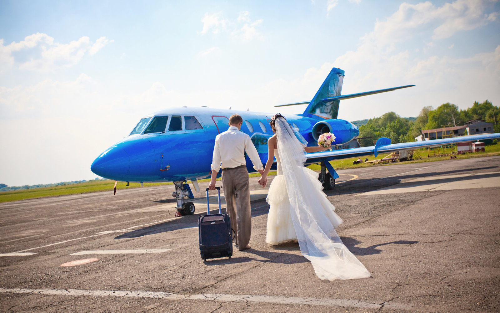 Man Proposes Wedding Mid-Flight