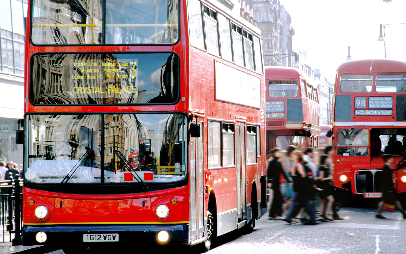 London Traffic Bus Update