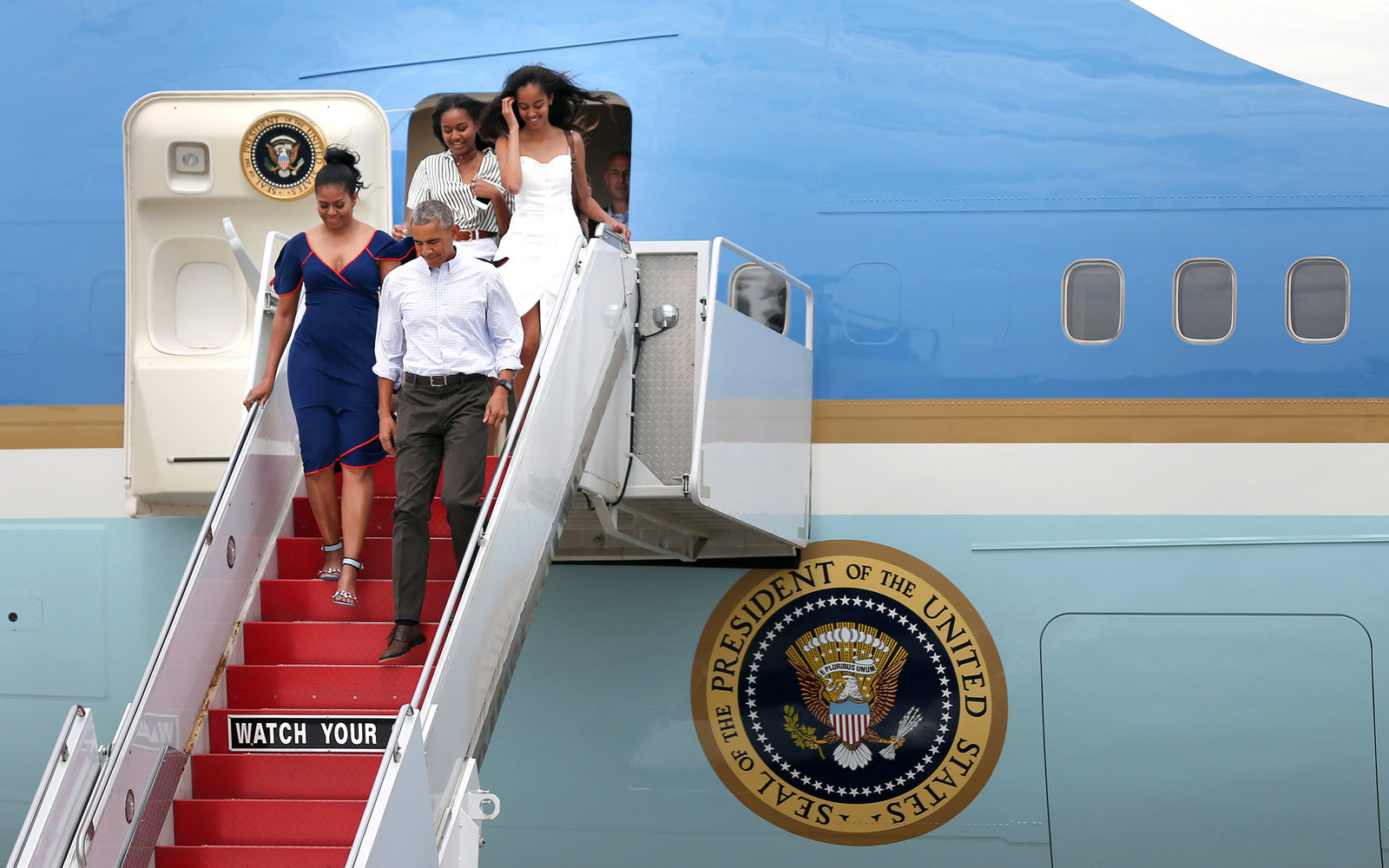 Michelle Obama Vacation Style