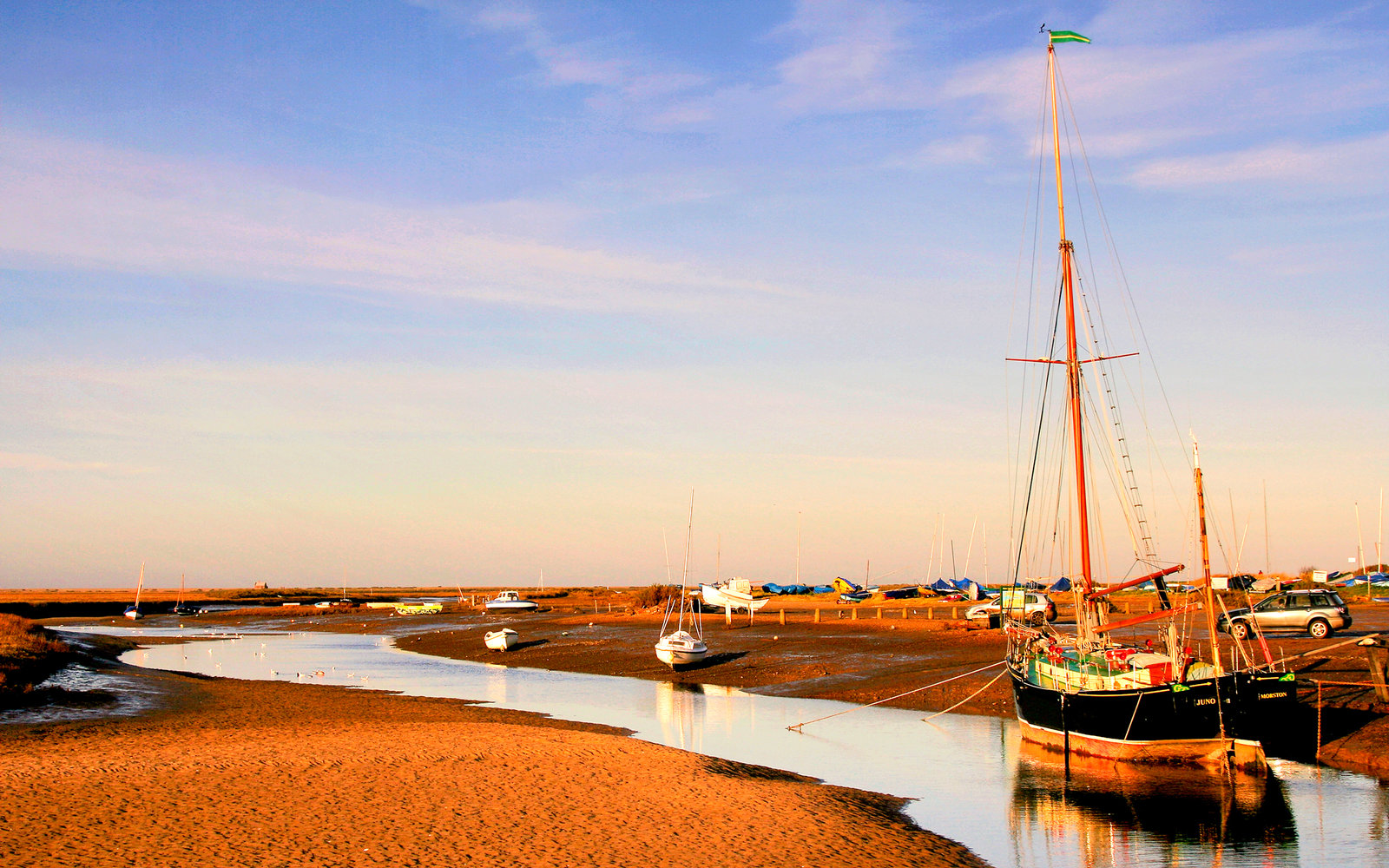 Shifting Sands Blakeney Harbour