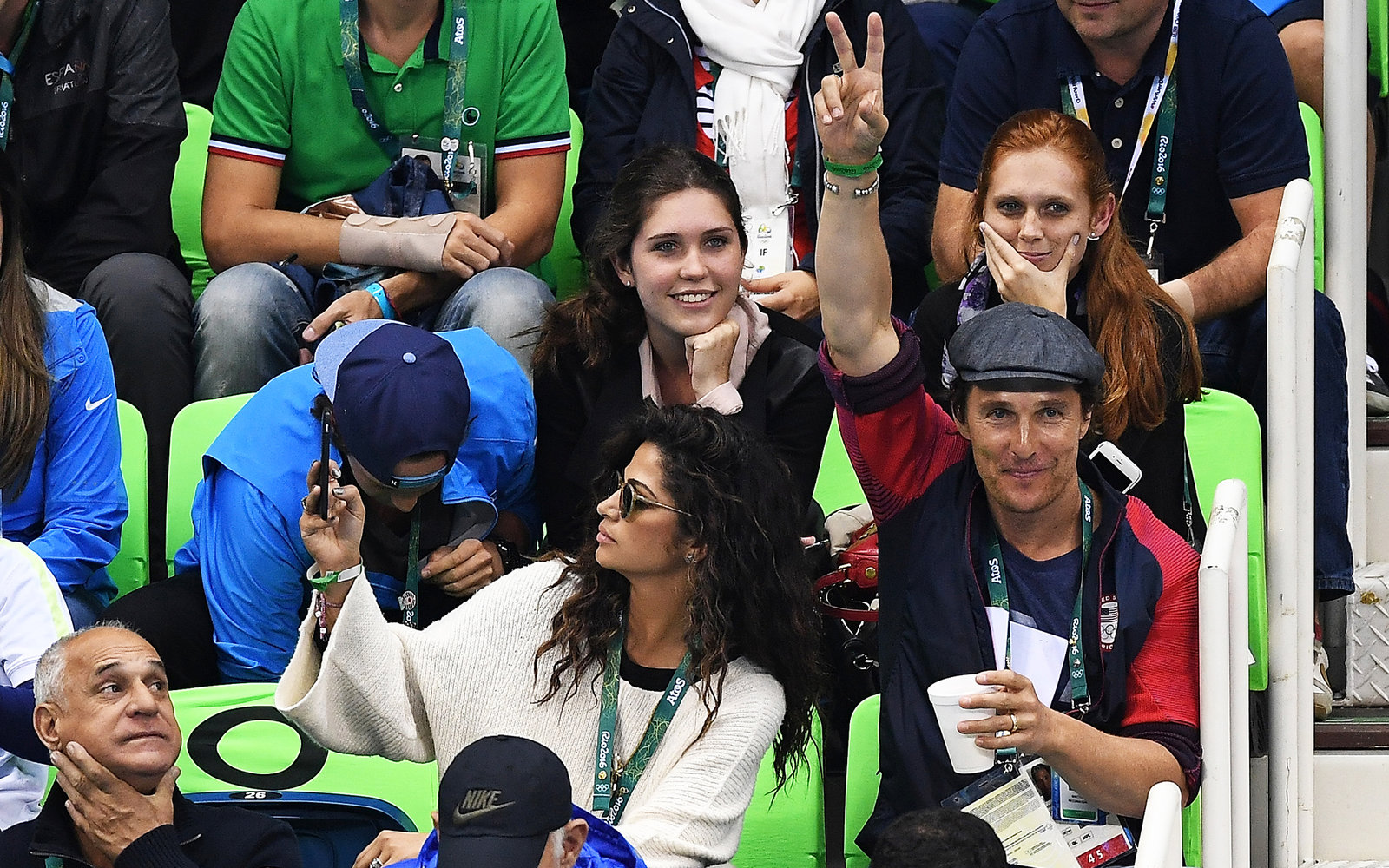 Matthew McConaughey Is Having the Best Time at the Olympics
