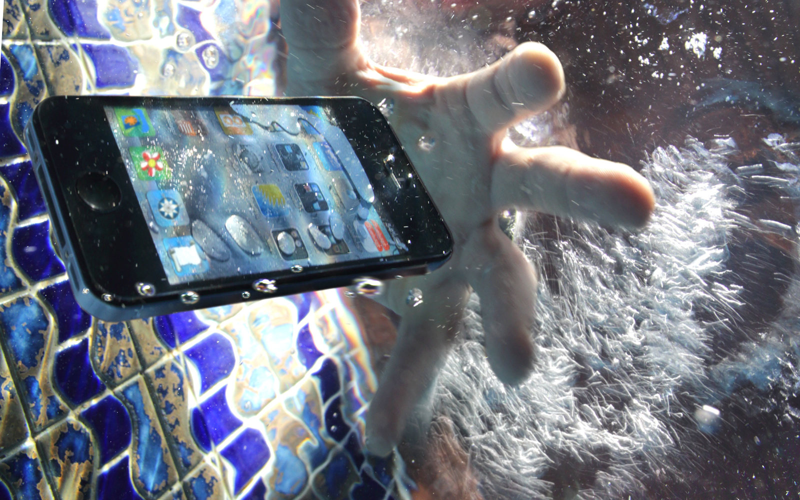 Waterproof iPhone