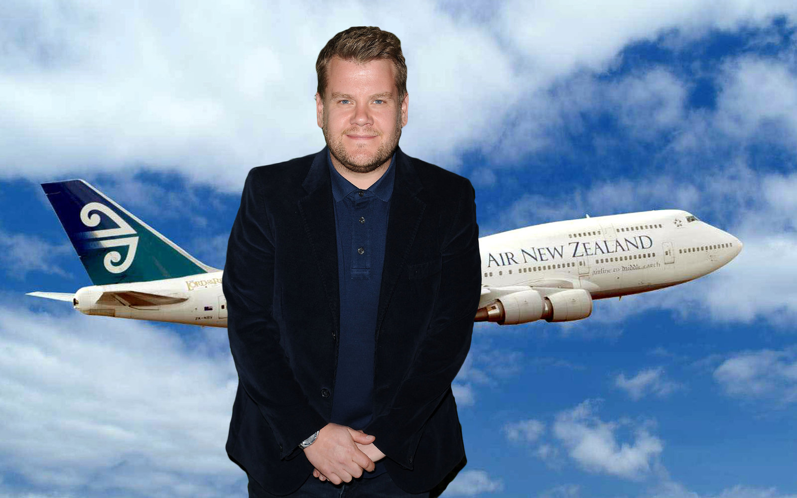 Air New Zealand Wants James Corden to Cockpit Karaoke