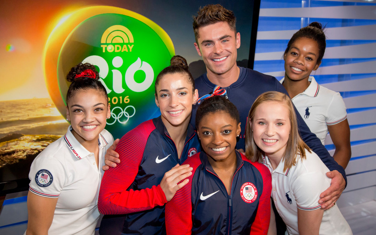 Zac Efron Explains Why He Flew to Rio to Surprise Simone Biles and the Final Five