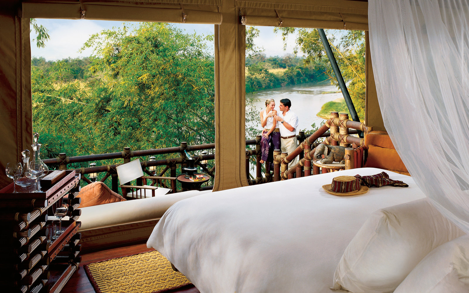 World s best romantic hotels travel leisure for Romantic hotels of the world