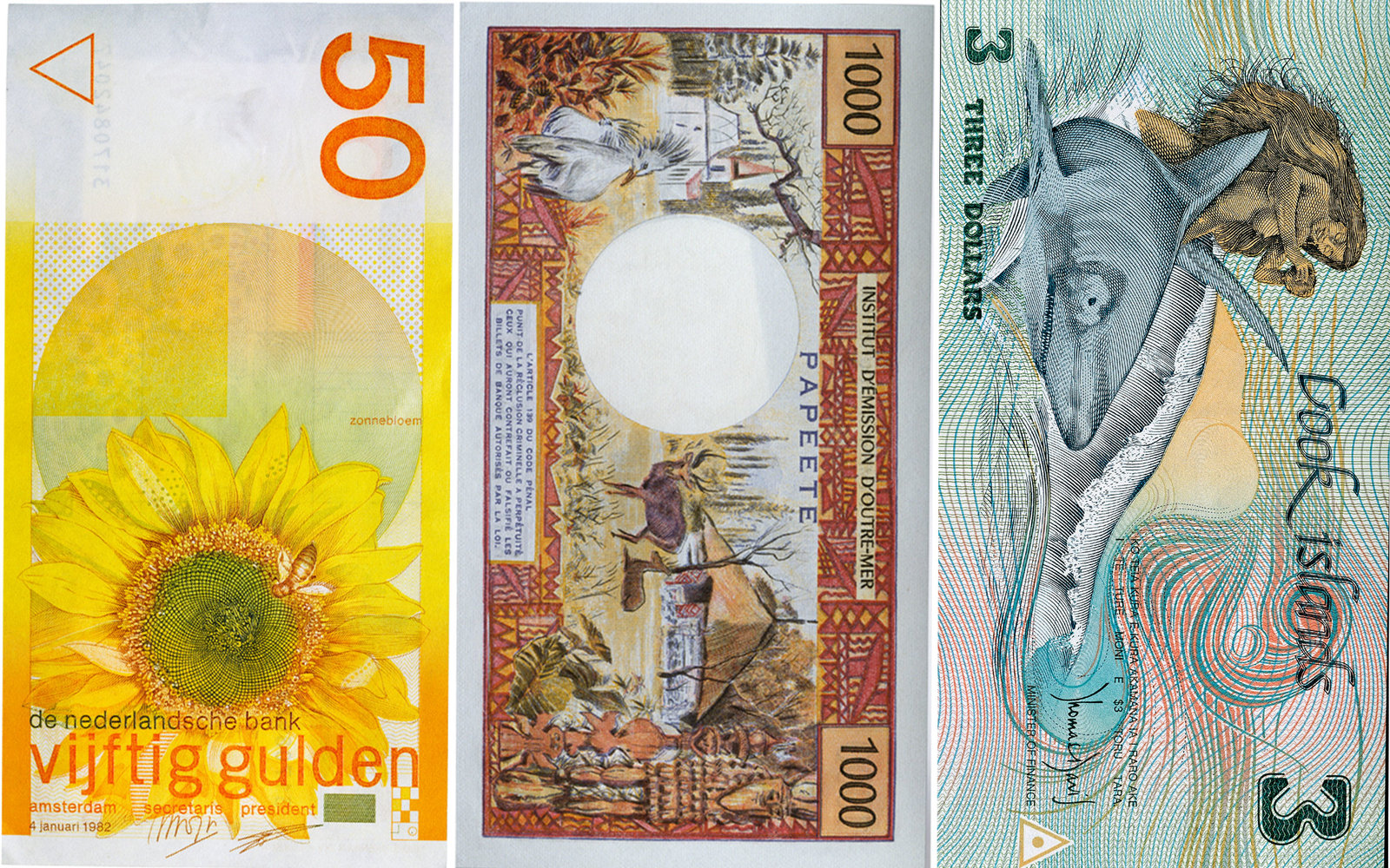 The Most Beautiful Currencies