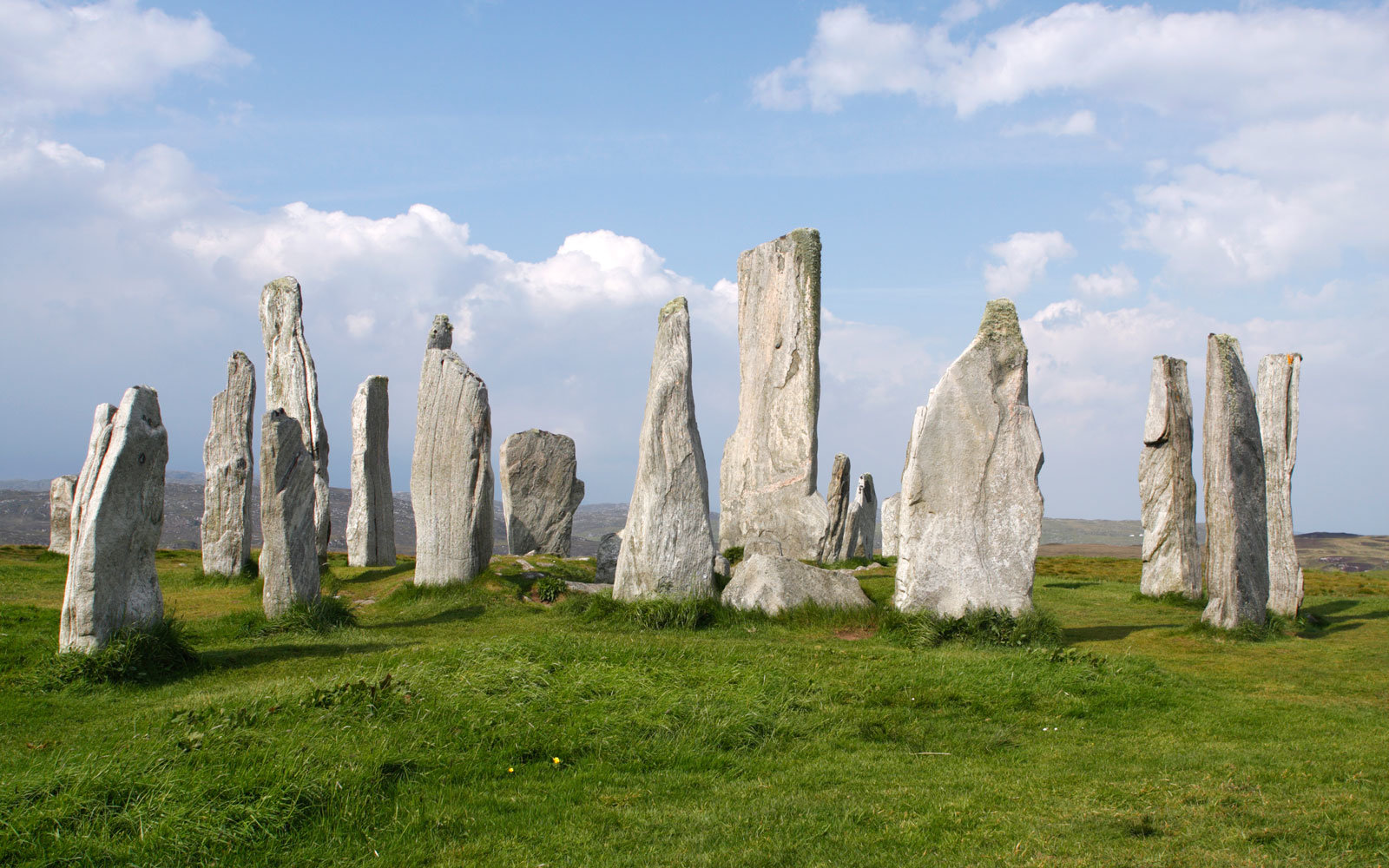 Stone Circles In Callanish, Scotland
