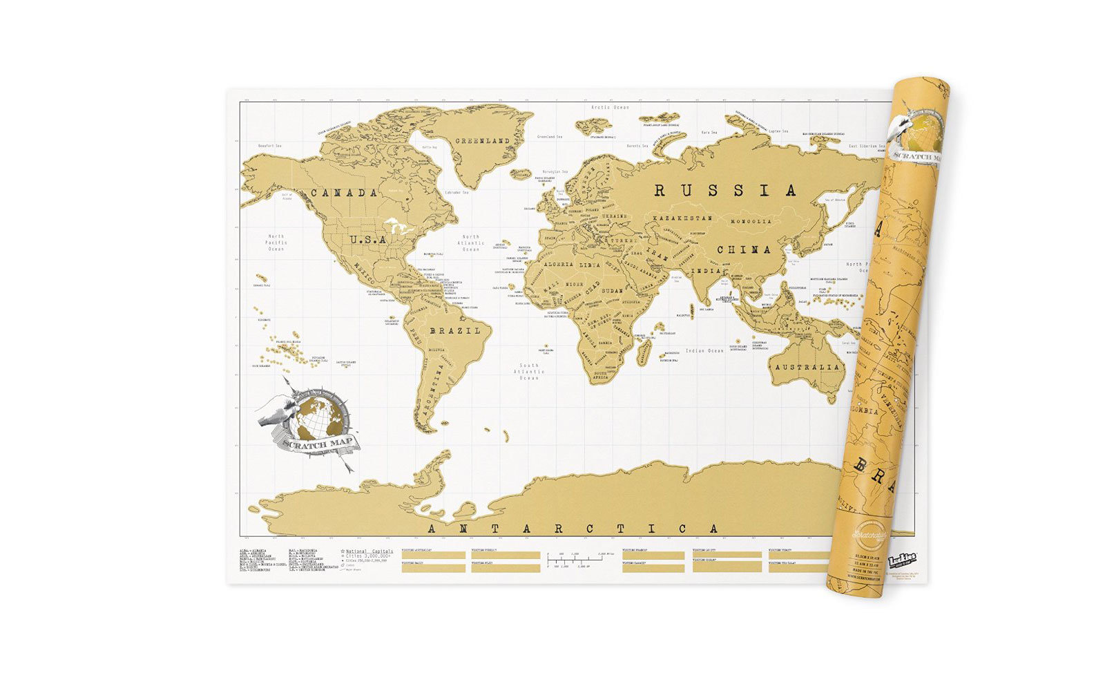 Gift Ideas For Teenagers Travel Leisure - Gifts for 8 year old boy the us map