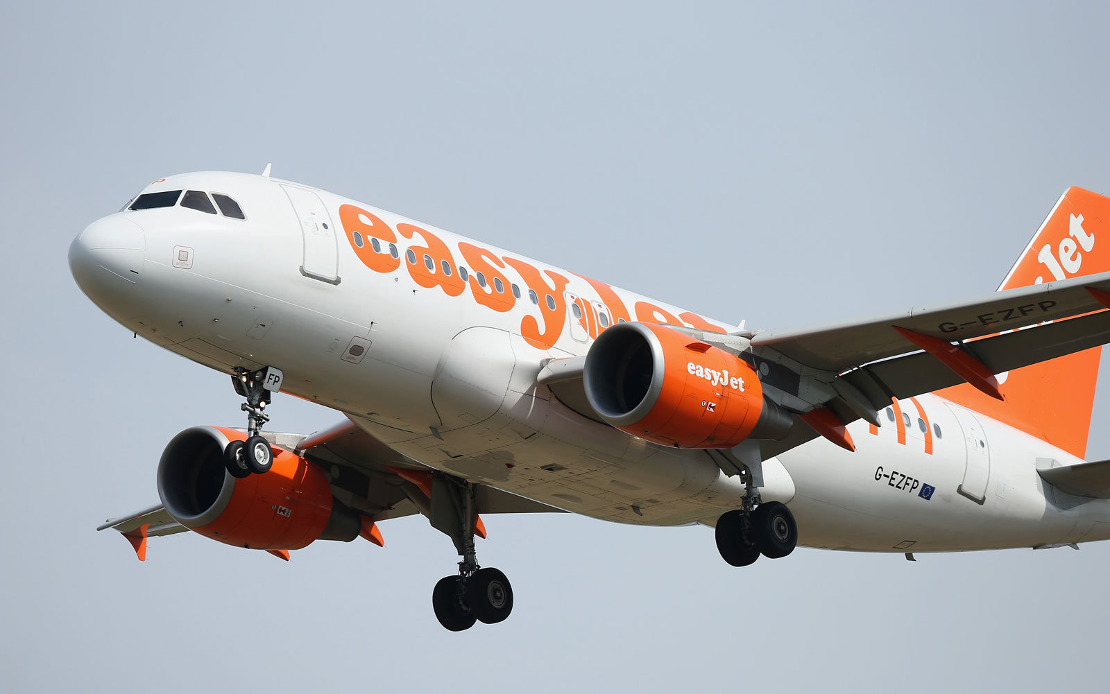An easyJet flight was delayed by a crew fight.