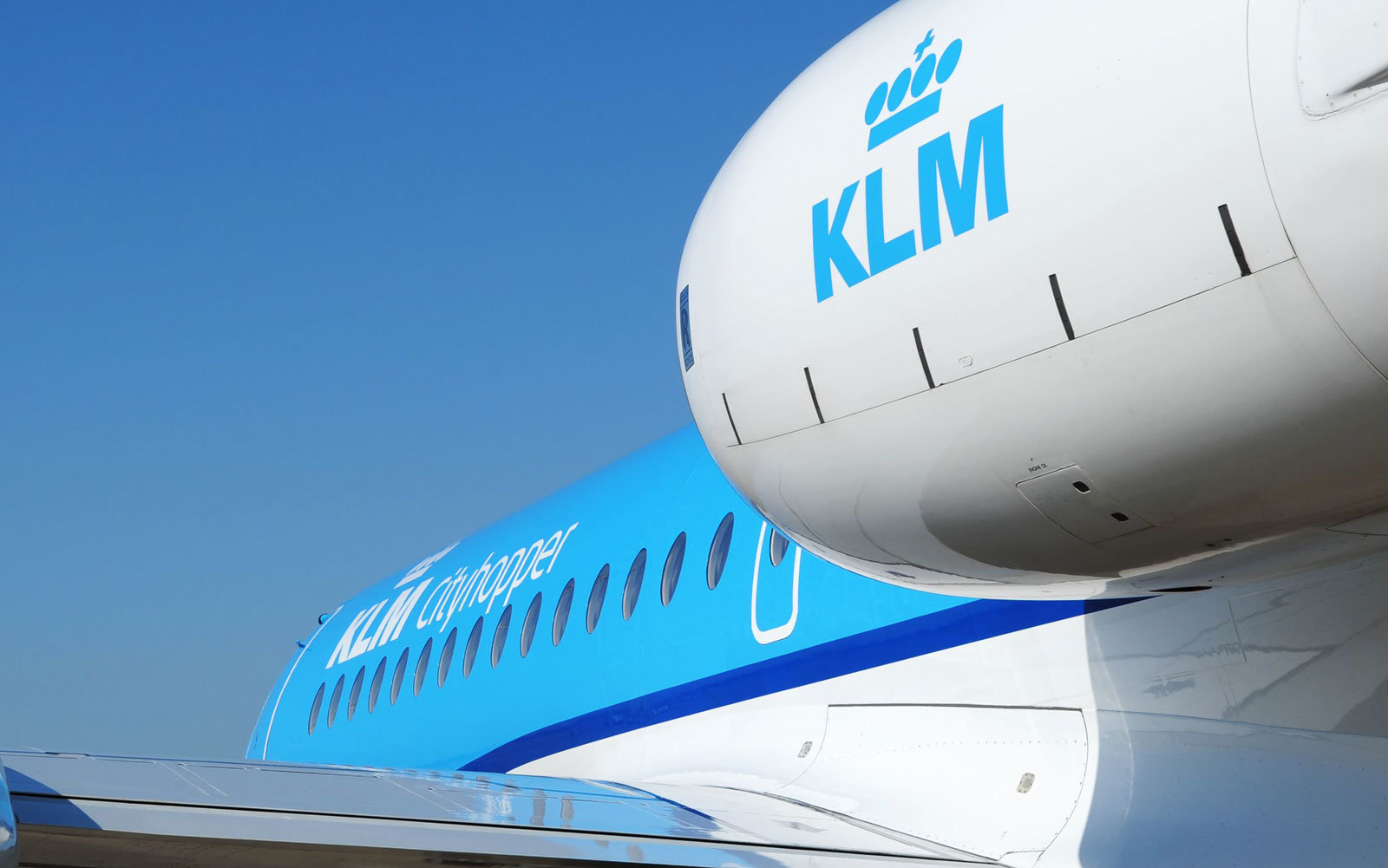 KLM wants you to know it's an airline.