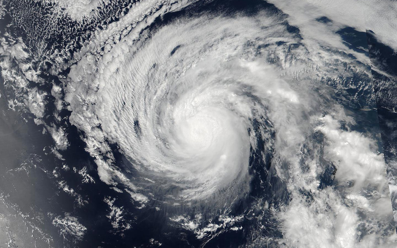 NASA captured three different hurricanes from space.