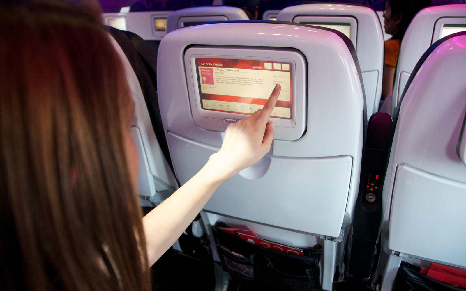 in-flight entertainment virgin america