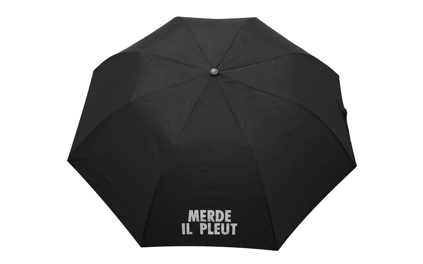 Merde Il Pleut Collapsible Umbrella