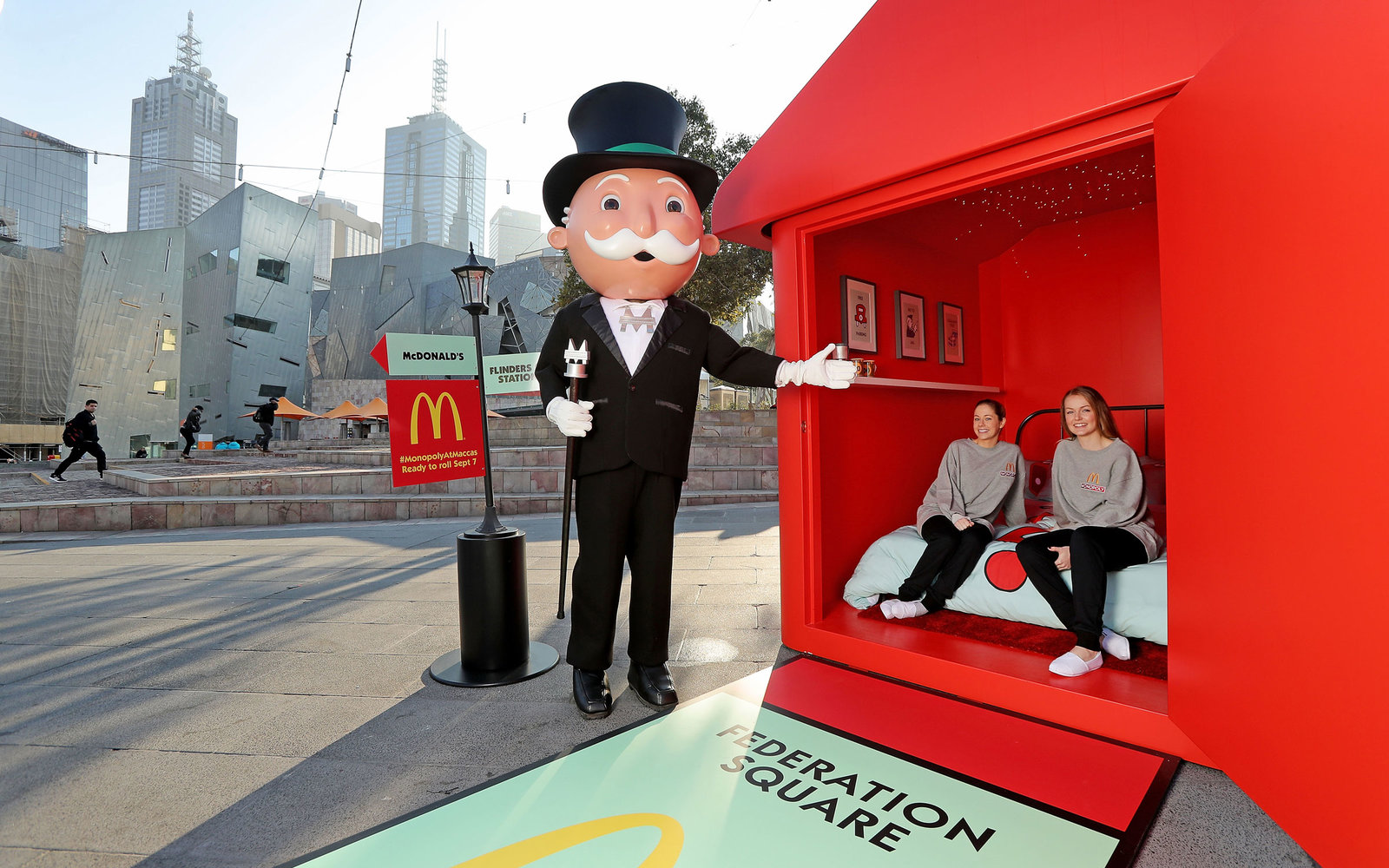 mcdonald's monopolyhotel in melbourne