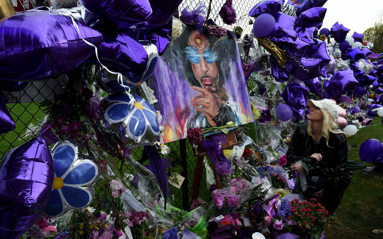 fan at paisley park