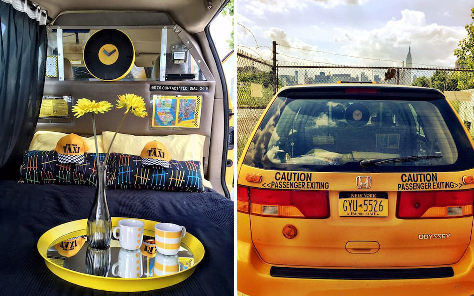 New York City taxi for $39/night