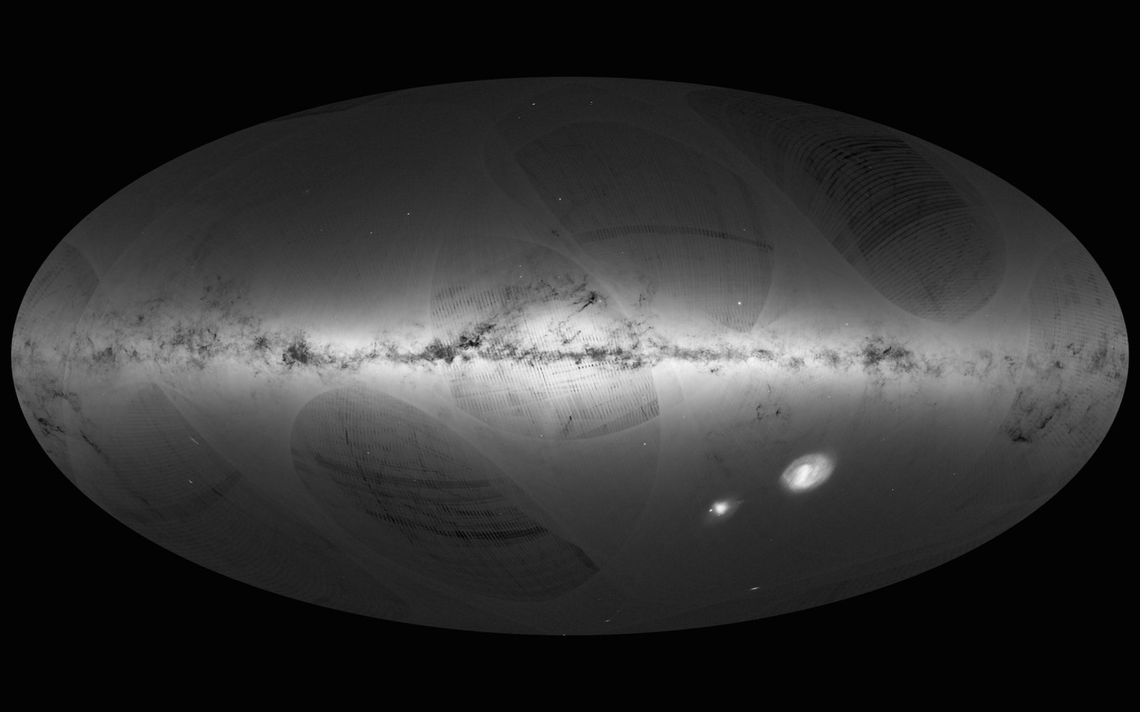 Gaia Sky Map European Space Agency