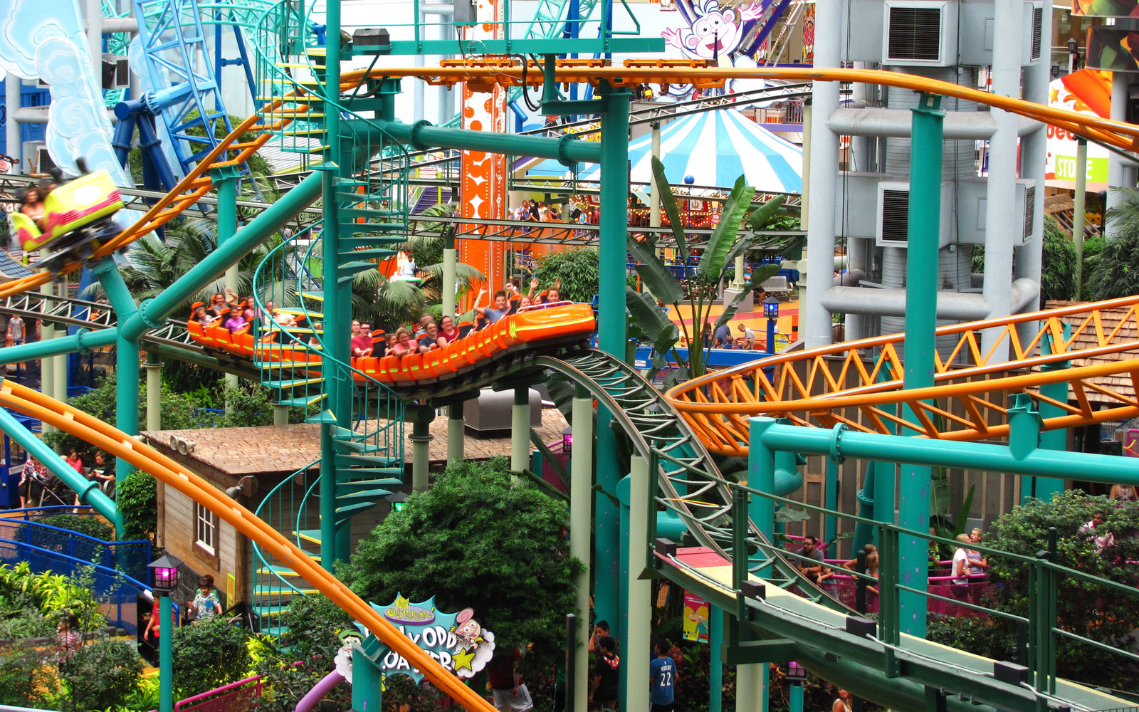 New Nickelodeon Universe in New Jersey