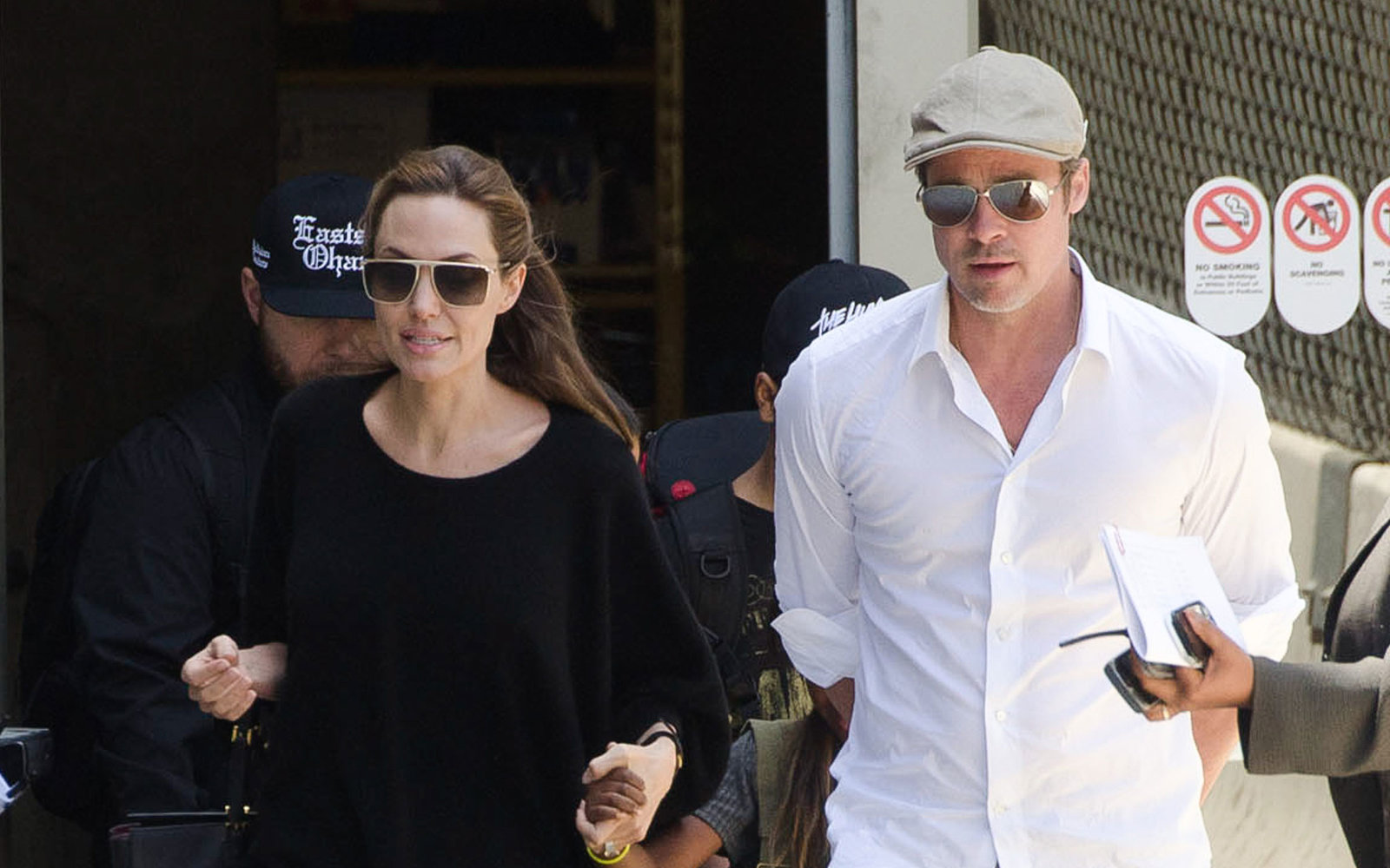 Brangelina on vacation