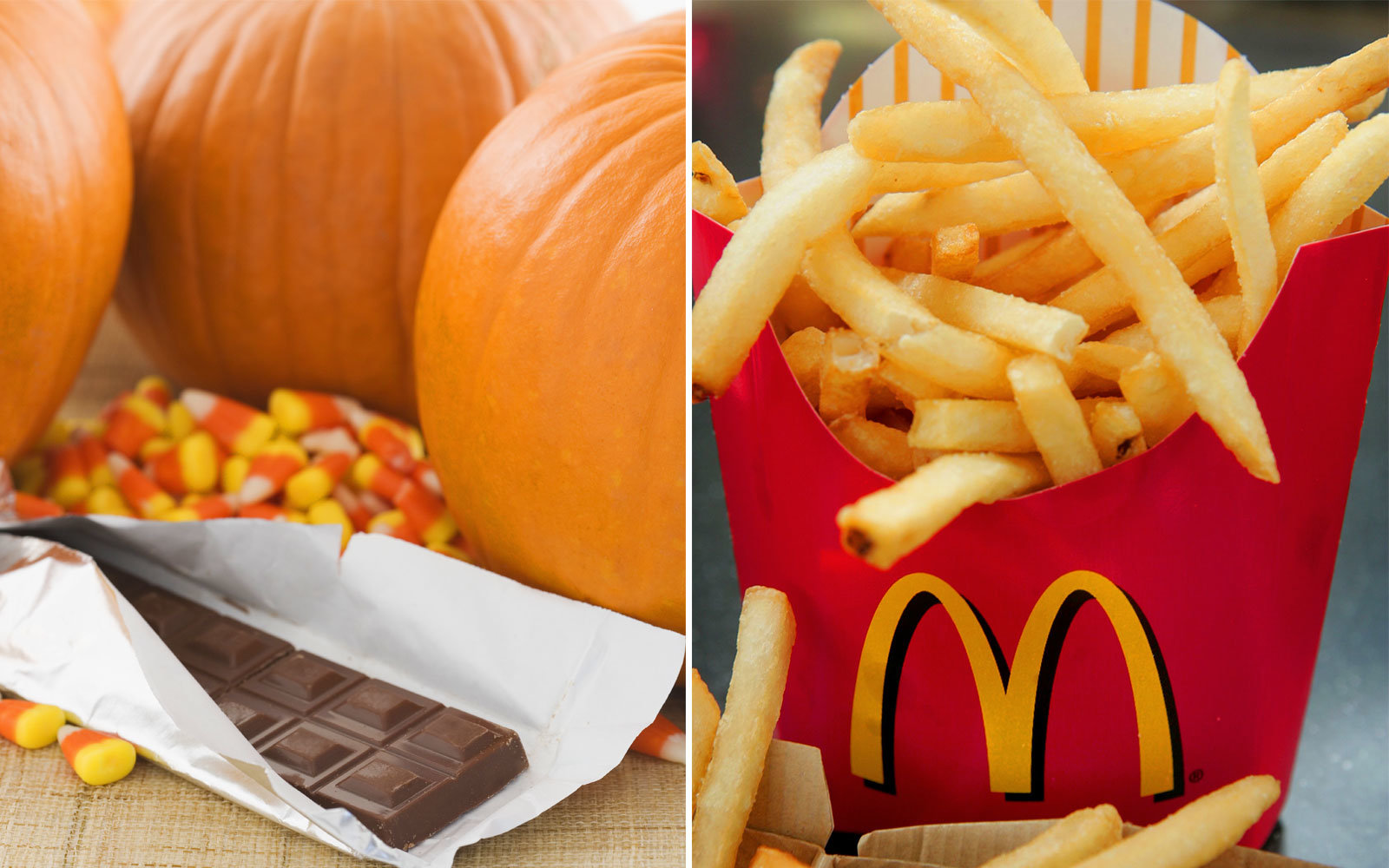 McDonald's Is Selling Pumpkin Chocolate French Fries Because It's Fall, People