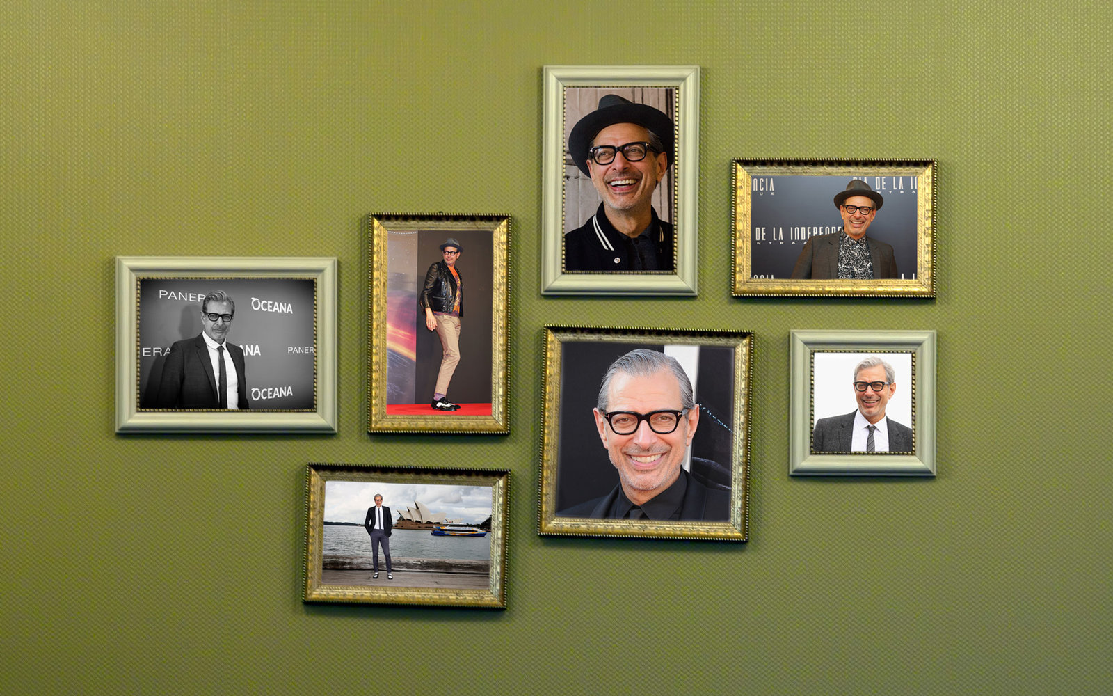Jeff Goldblum Hotel Room Surprise