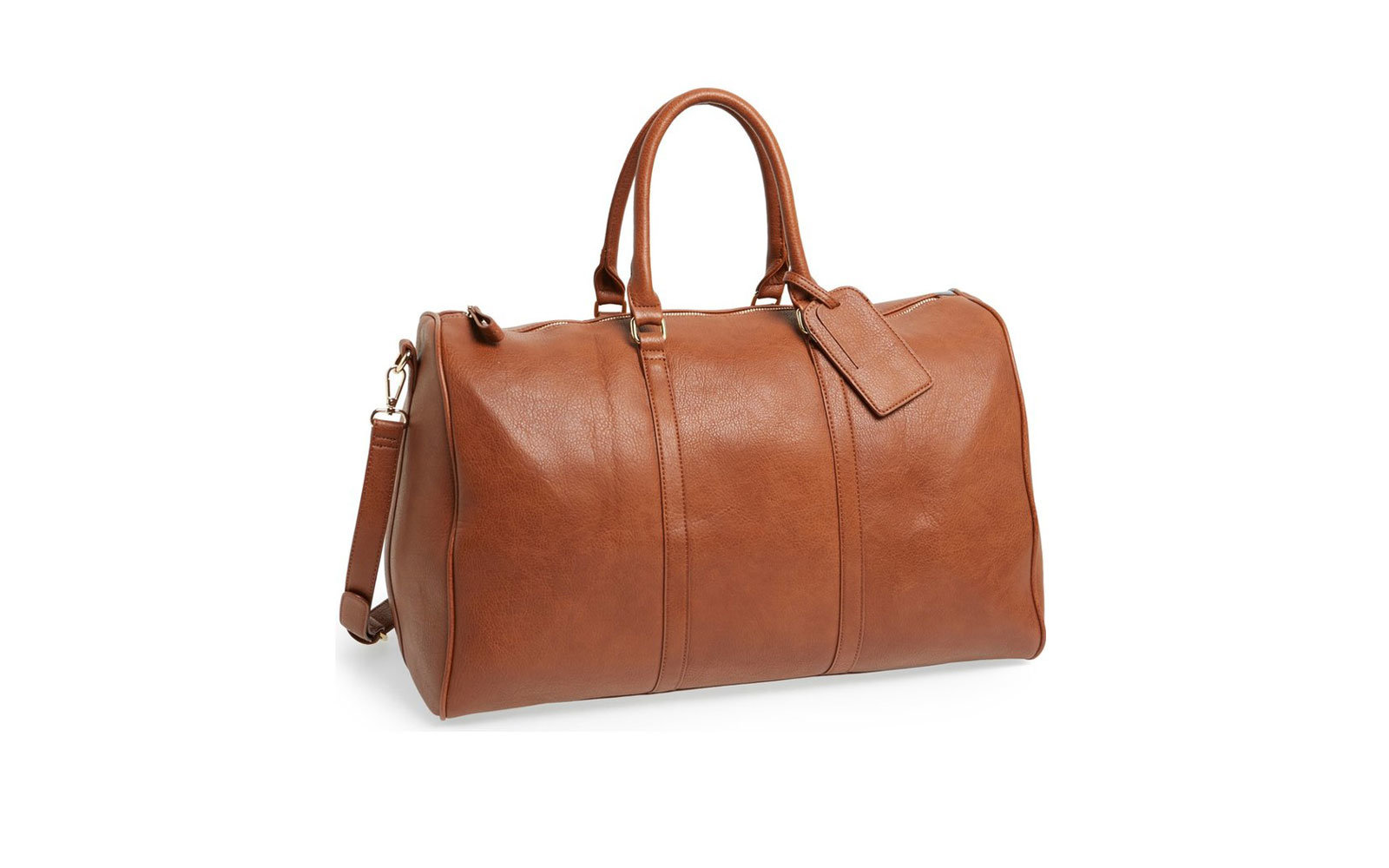 56070ba93b14 Sole Society Lacie Faux Leather Duffel Bag