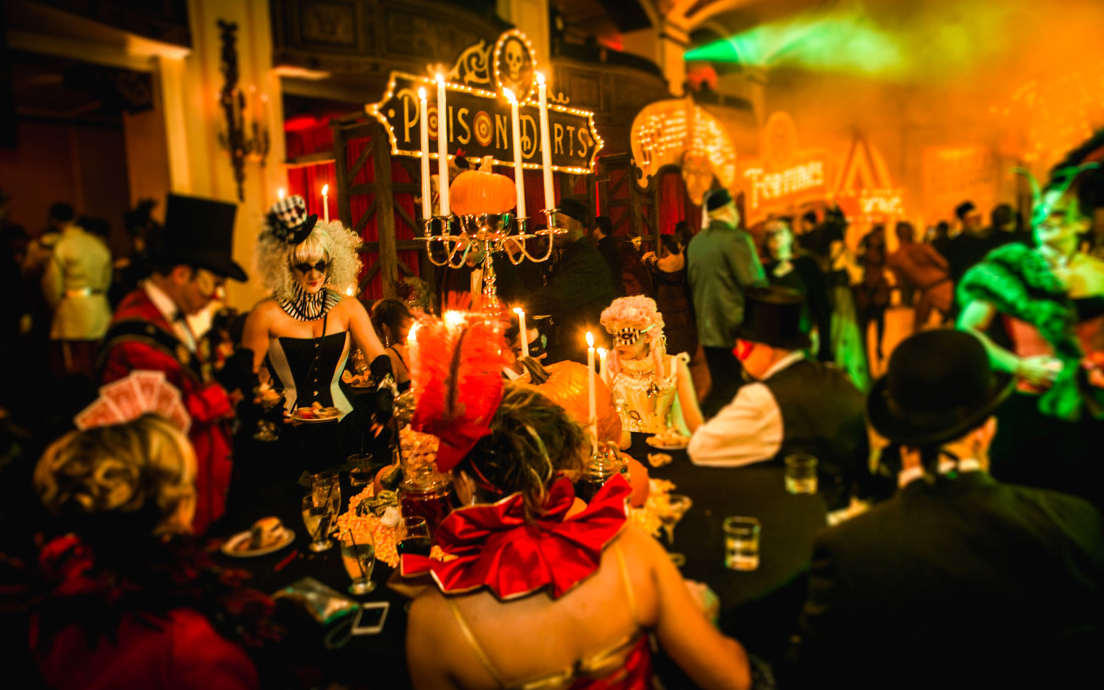 Detroit Halloween 'Theatre Bizzare' Masquerade Party