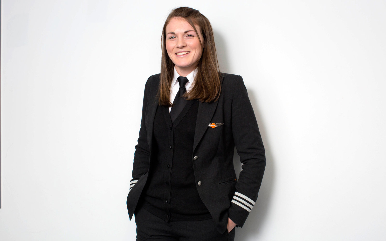 Young Female Pilot EasyJet