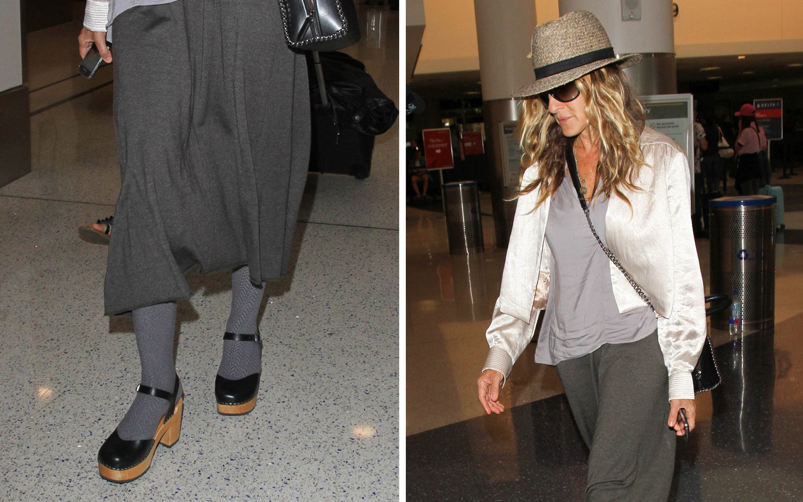 Sarah Jessica Parker Airport Style