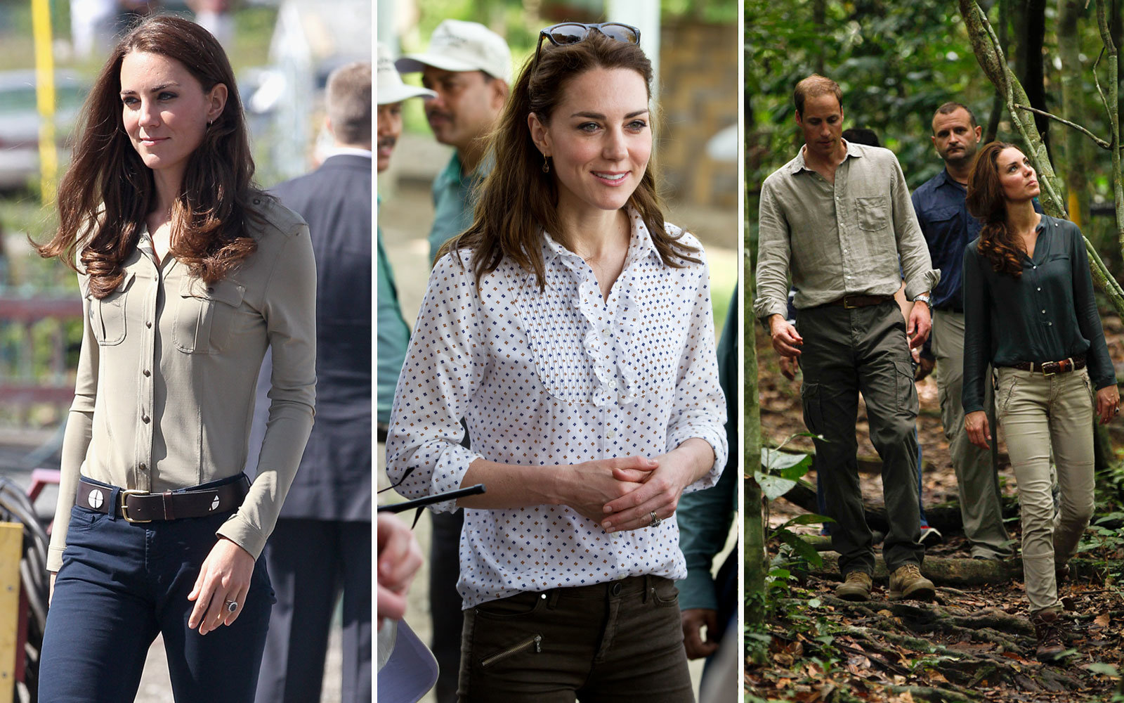 c4af7059686b Easy Button-Up Shirts. Kate Middleton Travel Outfit Inspiration