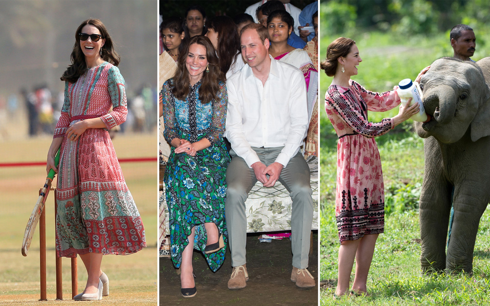 a302ace16a7c Printed Tunic Dresses. Kate Middleton Travel Outfit Inspiration