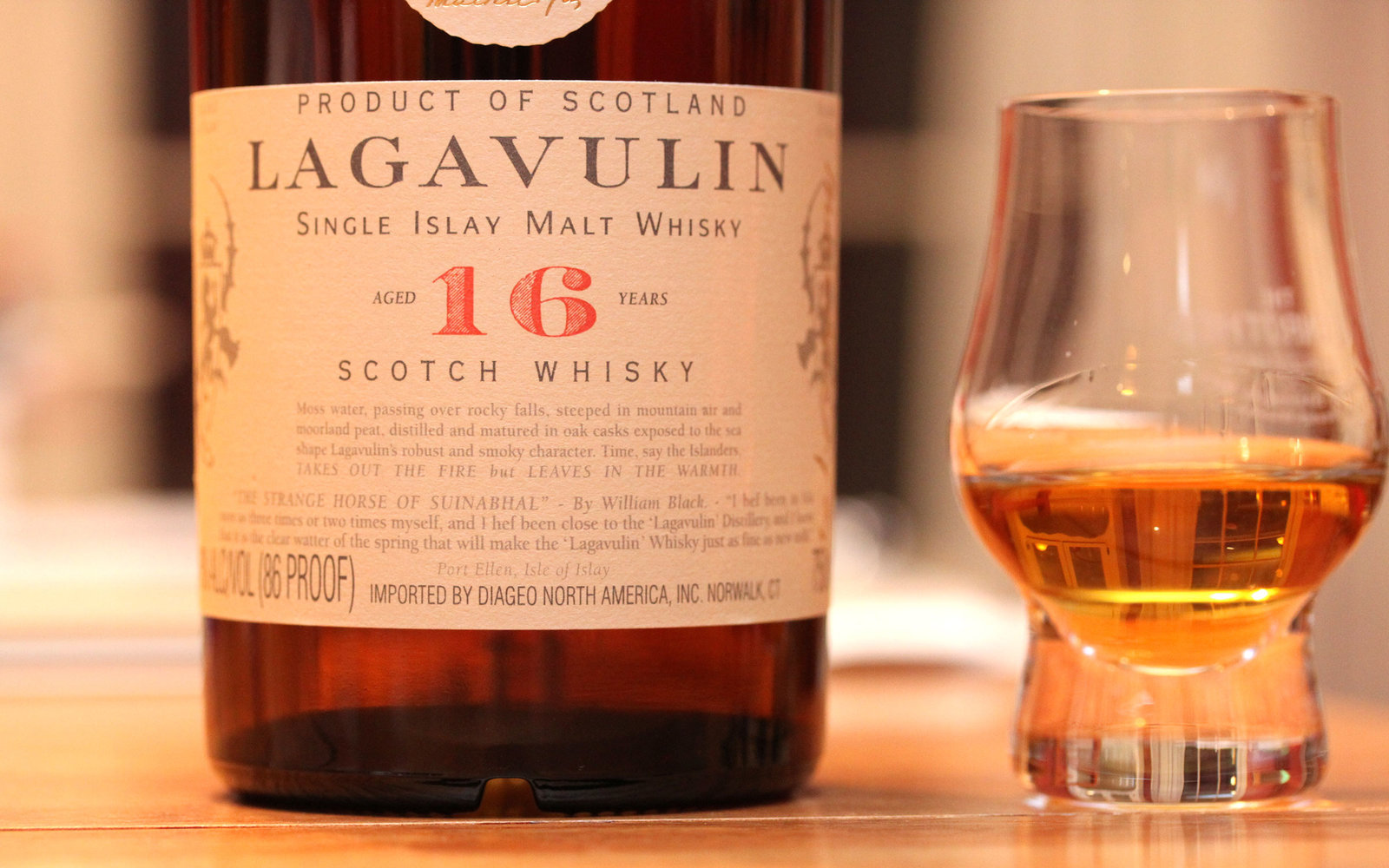 Cocktails with Lagavulin