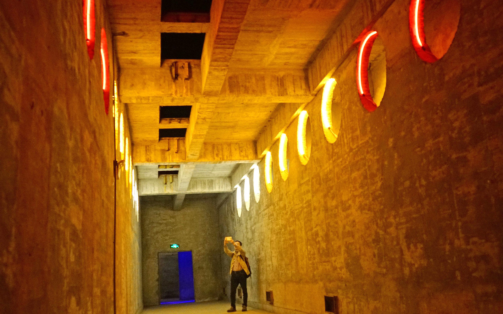 Chinas Nuclear Bunker Opens to Public