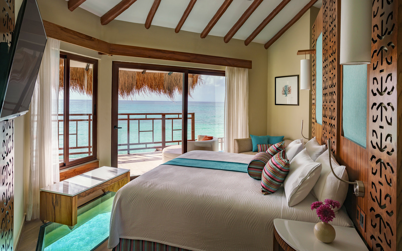 Palafitos Overwater Bungalows, Mexico