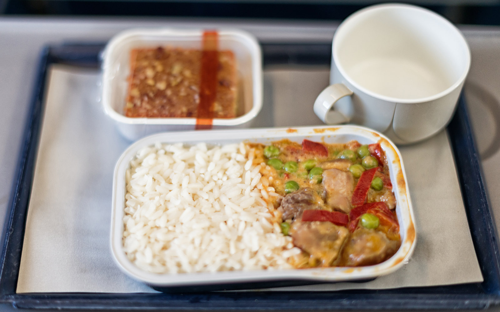 Why airplane food taste so bad