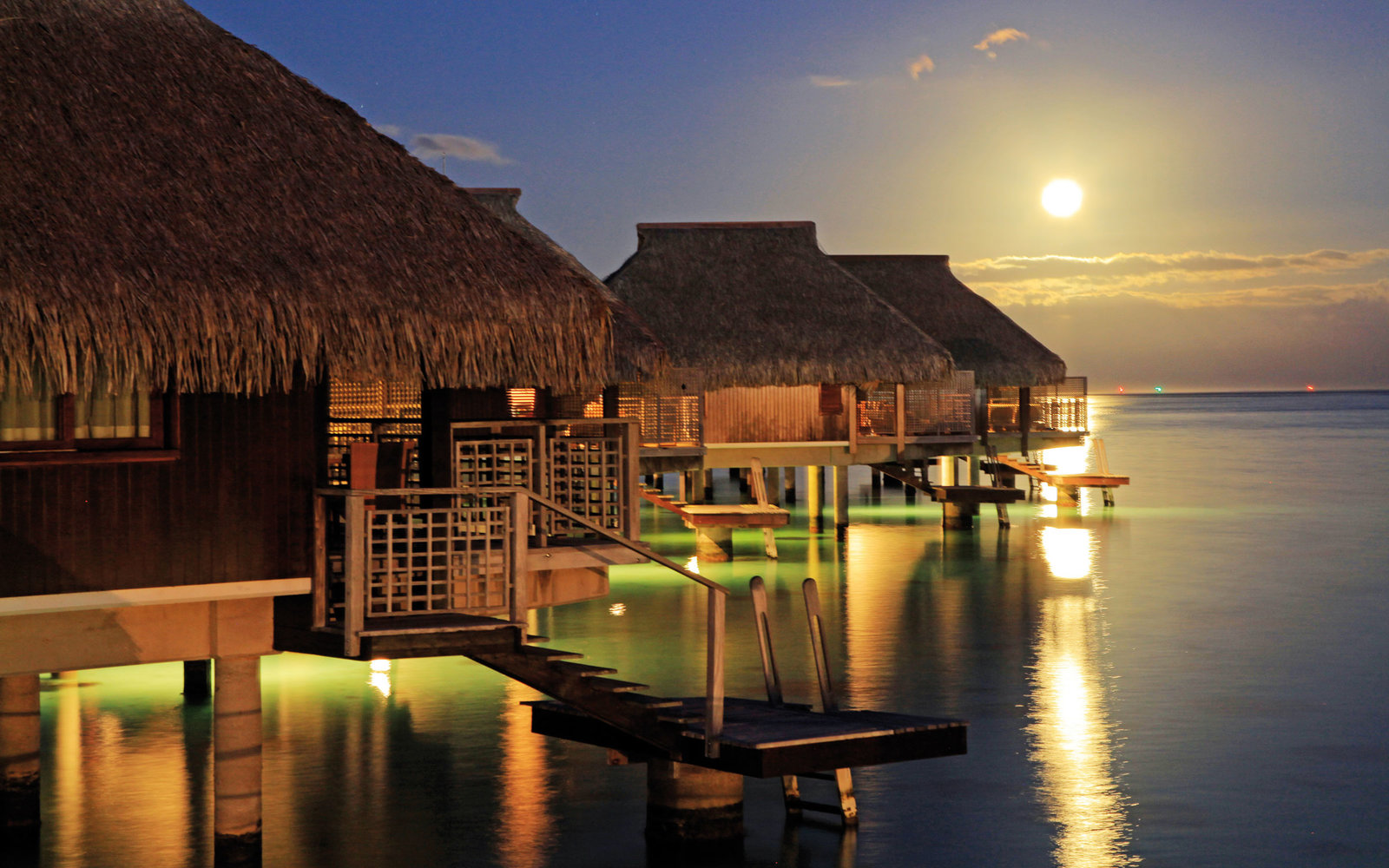 The Best Overwater Bungalows  Travel  Leisure
