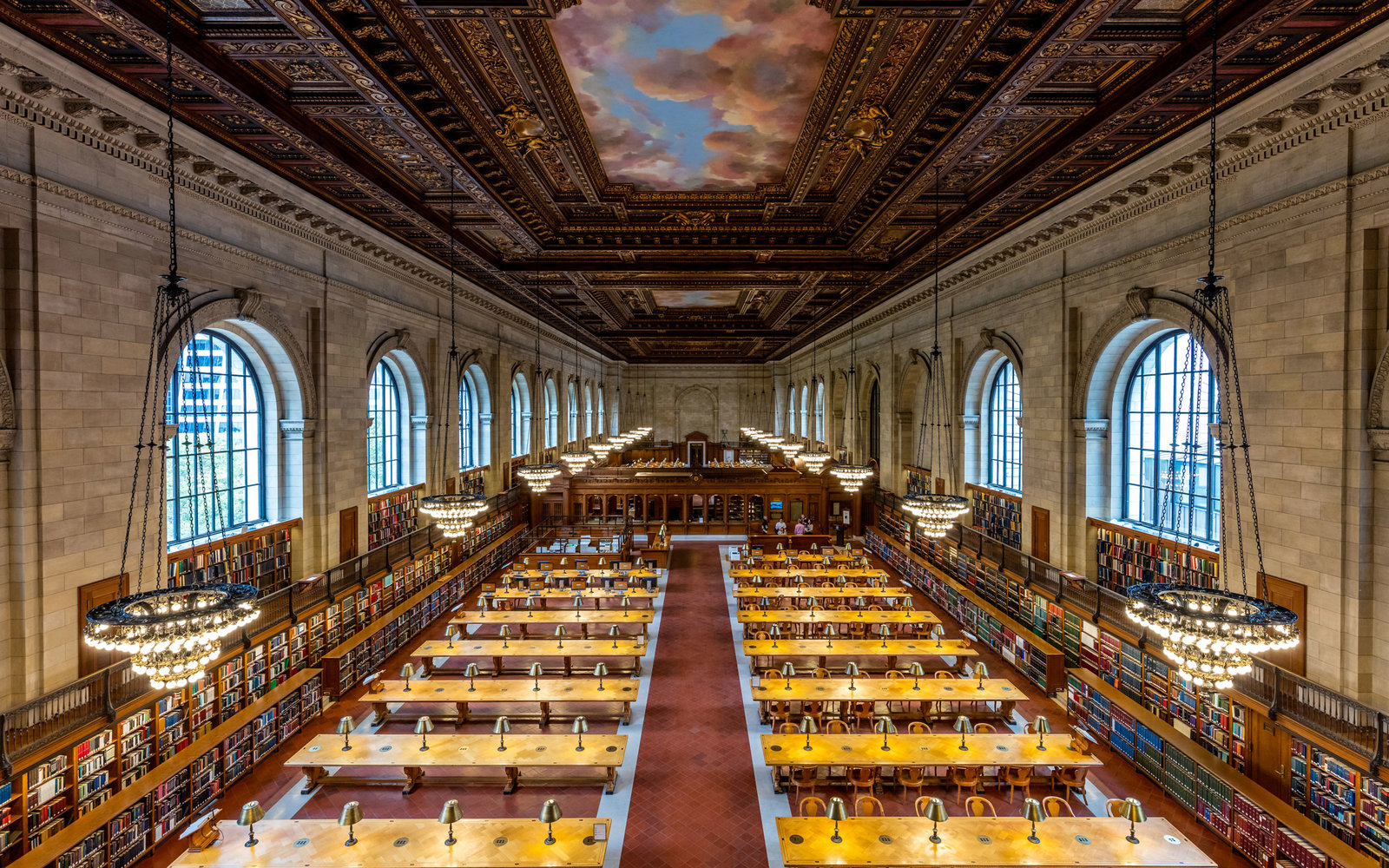 New York Public Library Reopens the Historic Rose Room ...