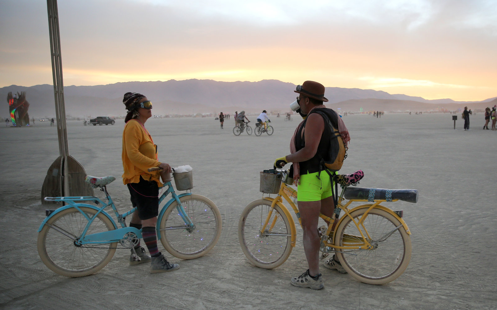 What It Was Like to Go to Burning Man With My Parents