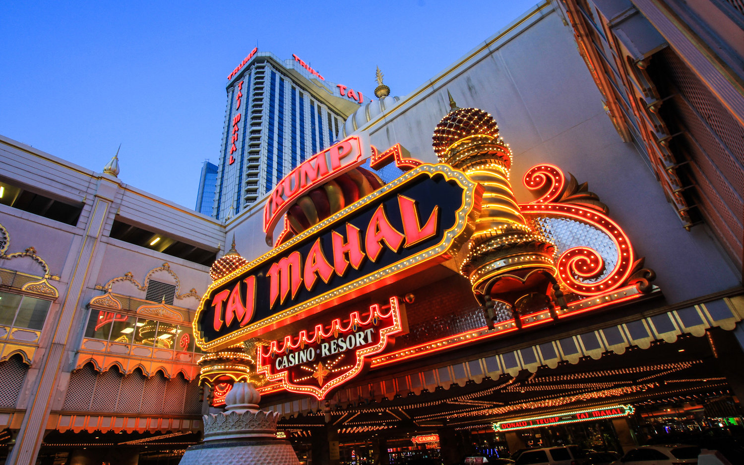 Trump Taj Mahal Officially Closes After Losing 350