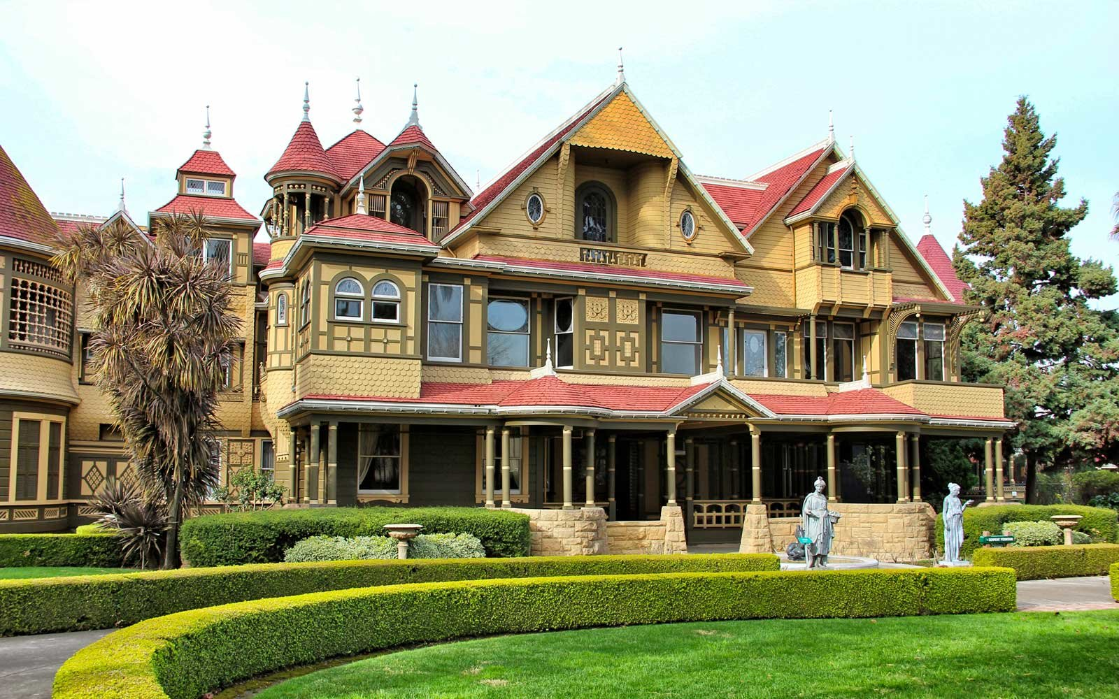 new room found at winchester mystery house | travel + leisure
