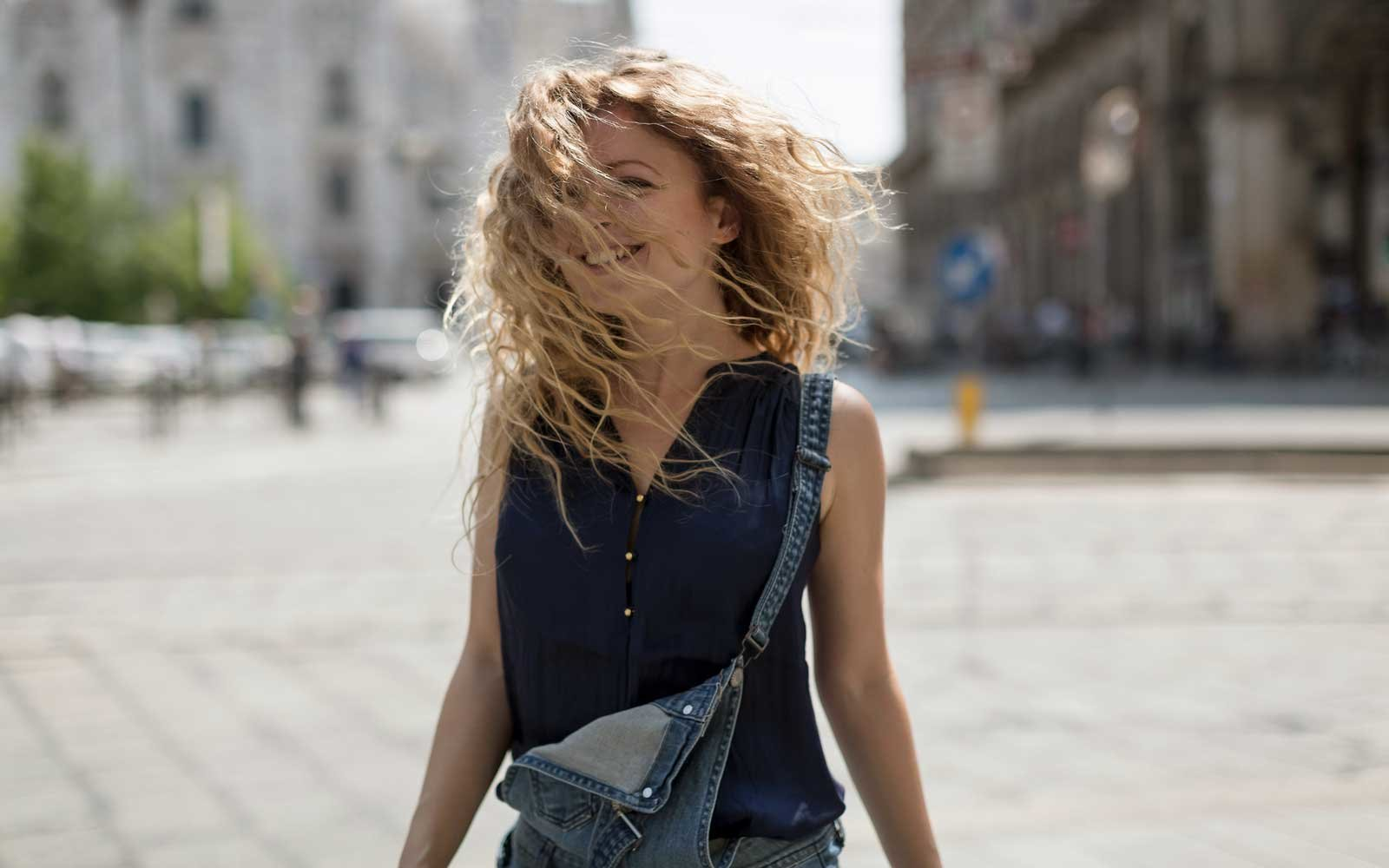 Train Your Hair to Be Less Oily