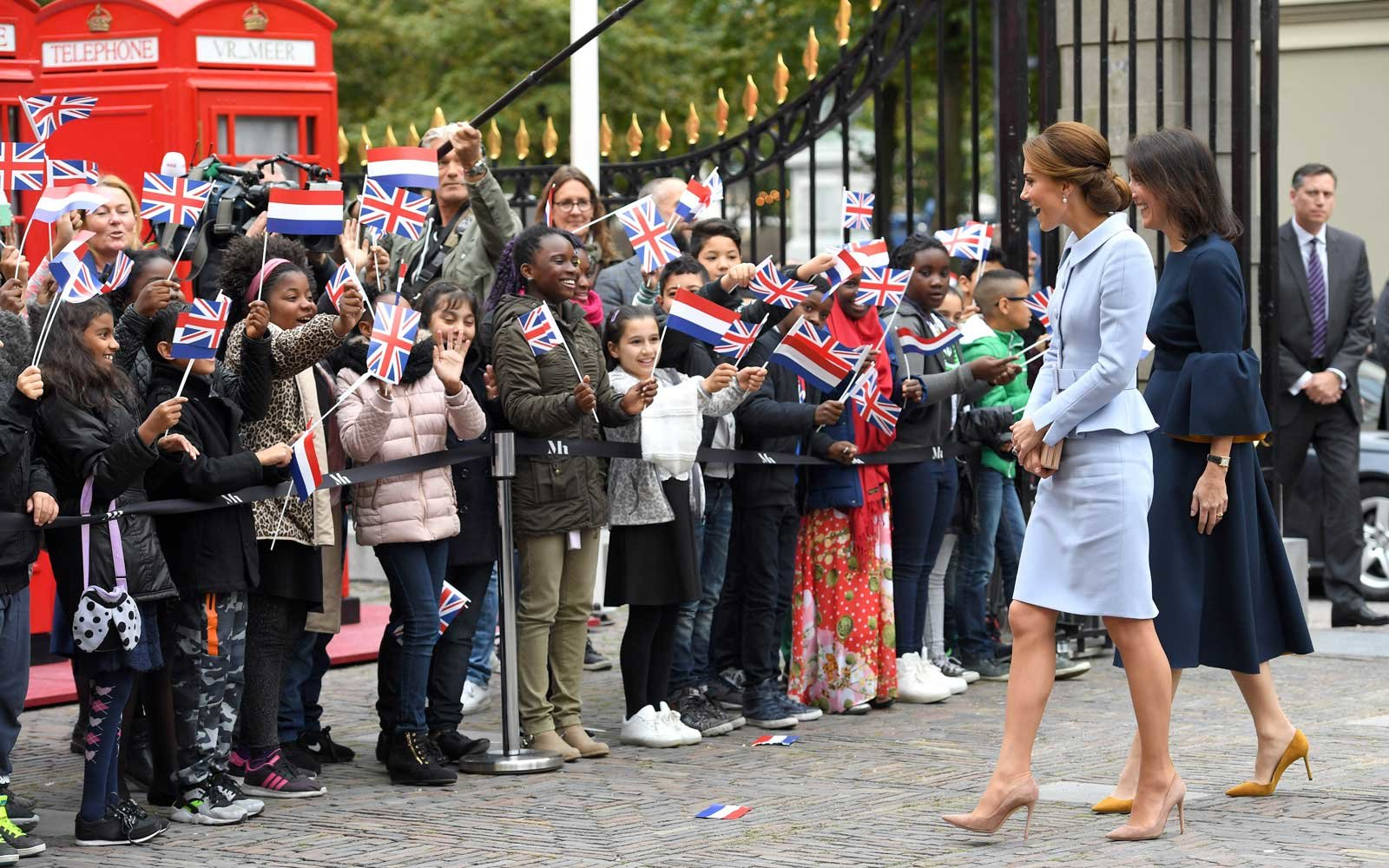 Kate Middleton traveling by herself for the first time as a royal