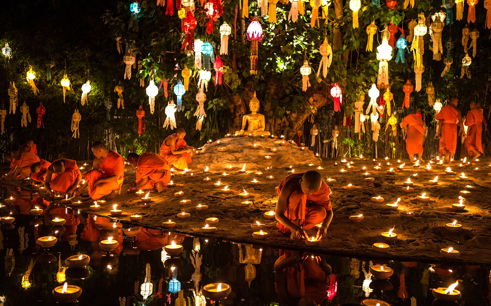 Status of events and festivals during Thailand's Mourning Period
