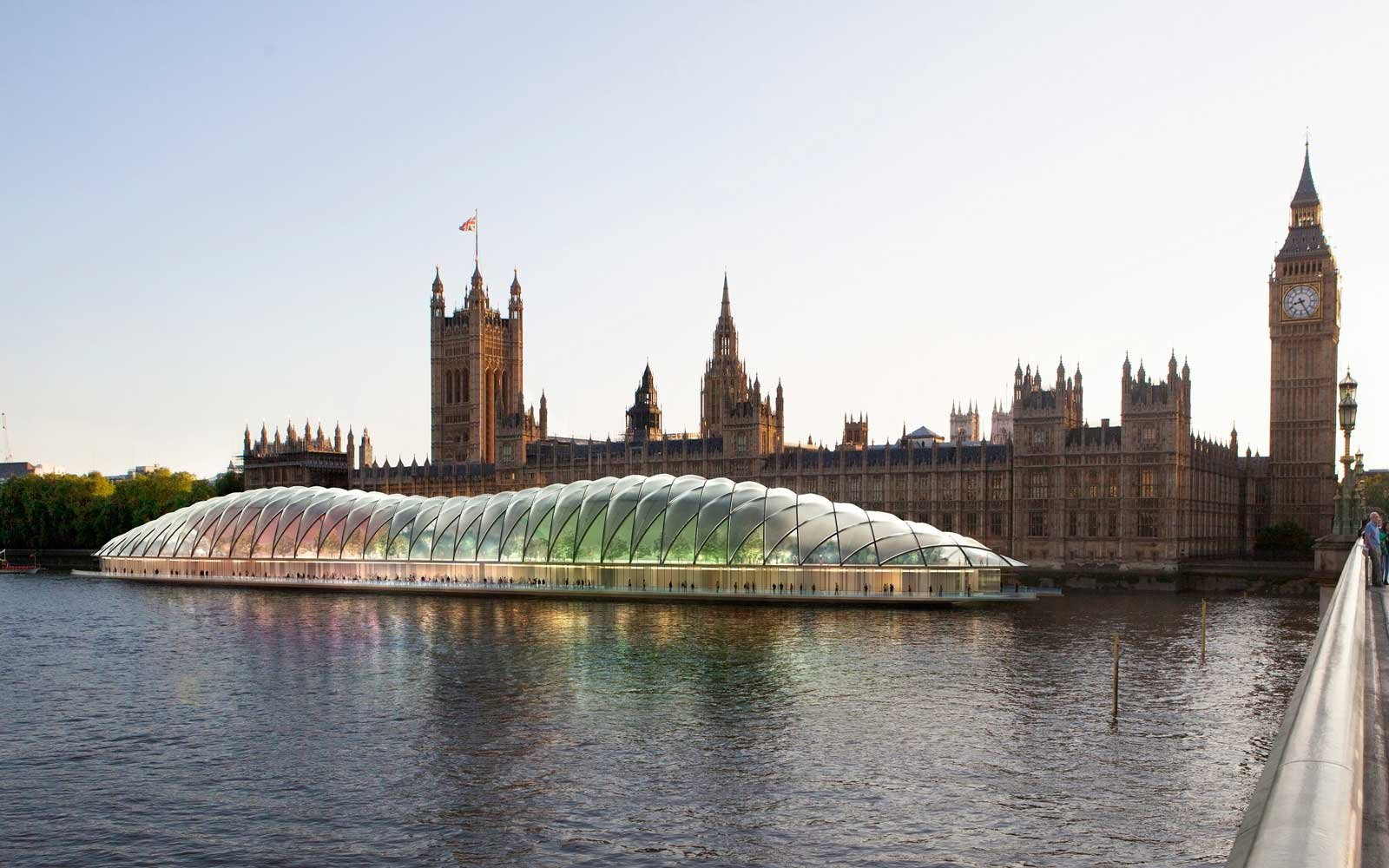 Parliament Proposed River Pod
