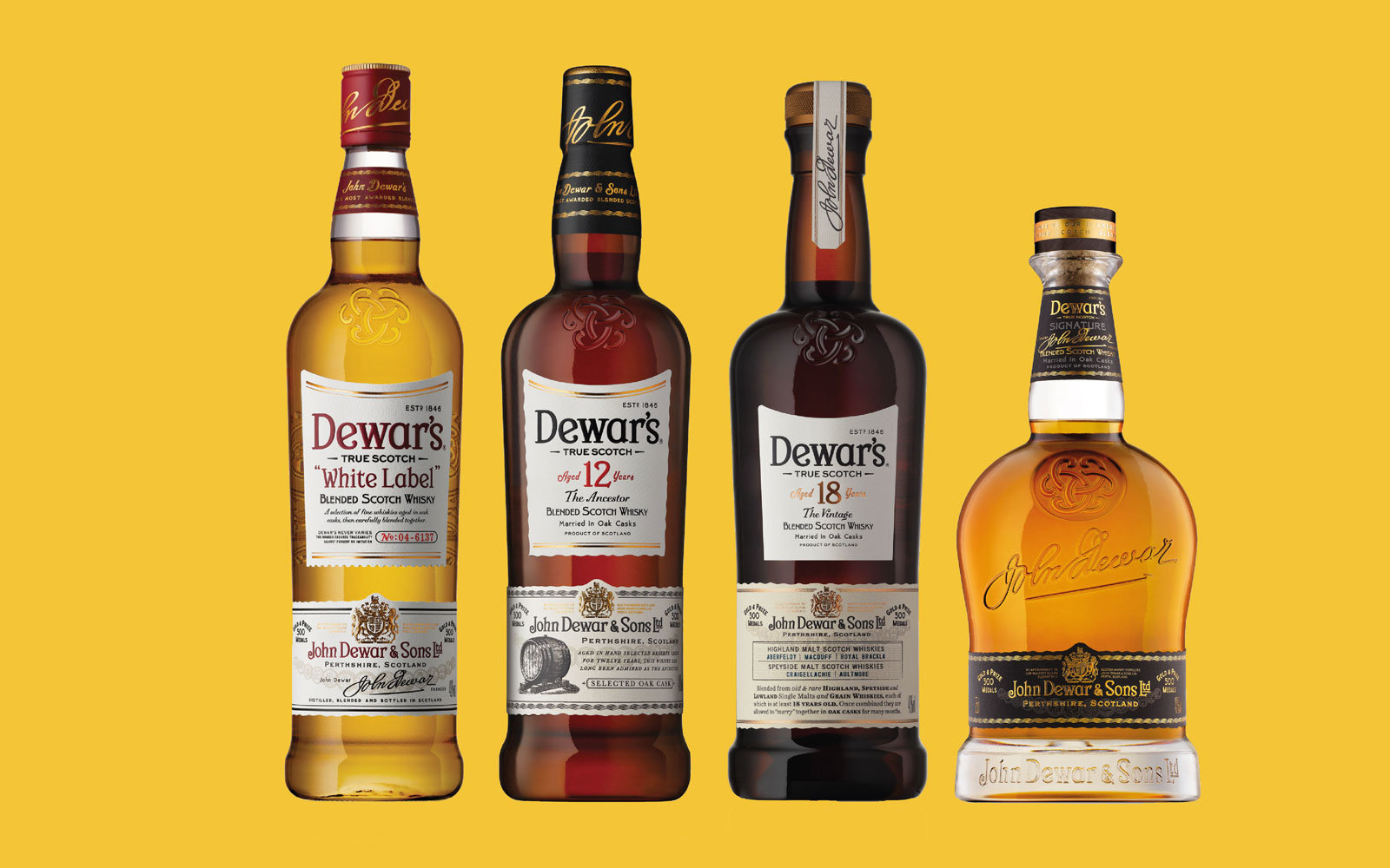 Cocktail Recipes with Dewar's Scotch