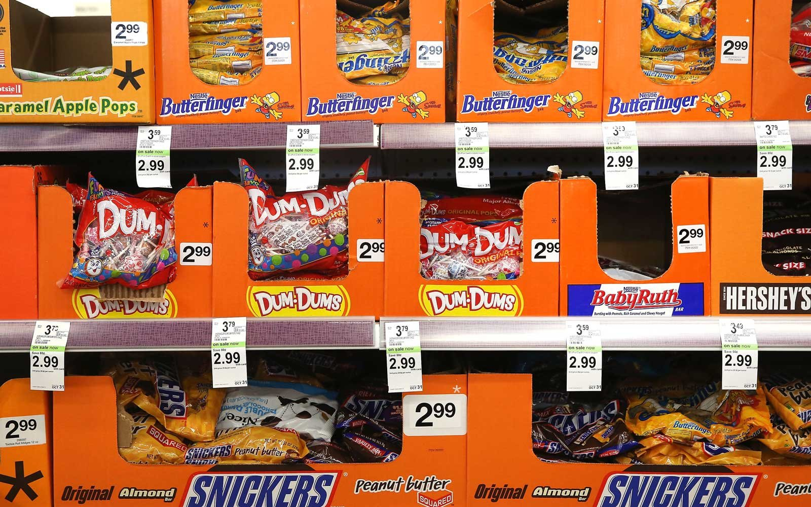 Popular Halloween Candy By State