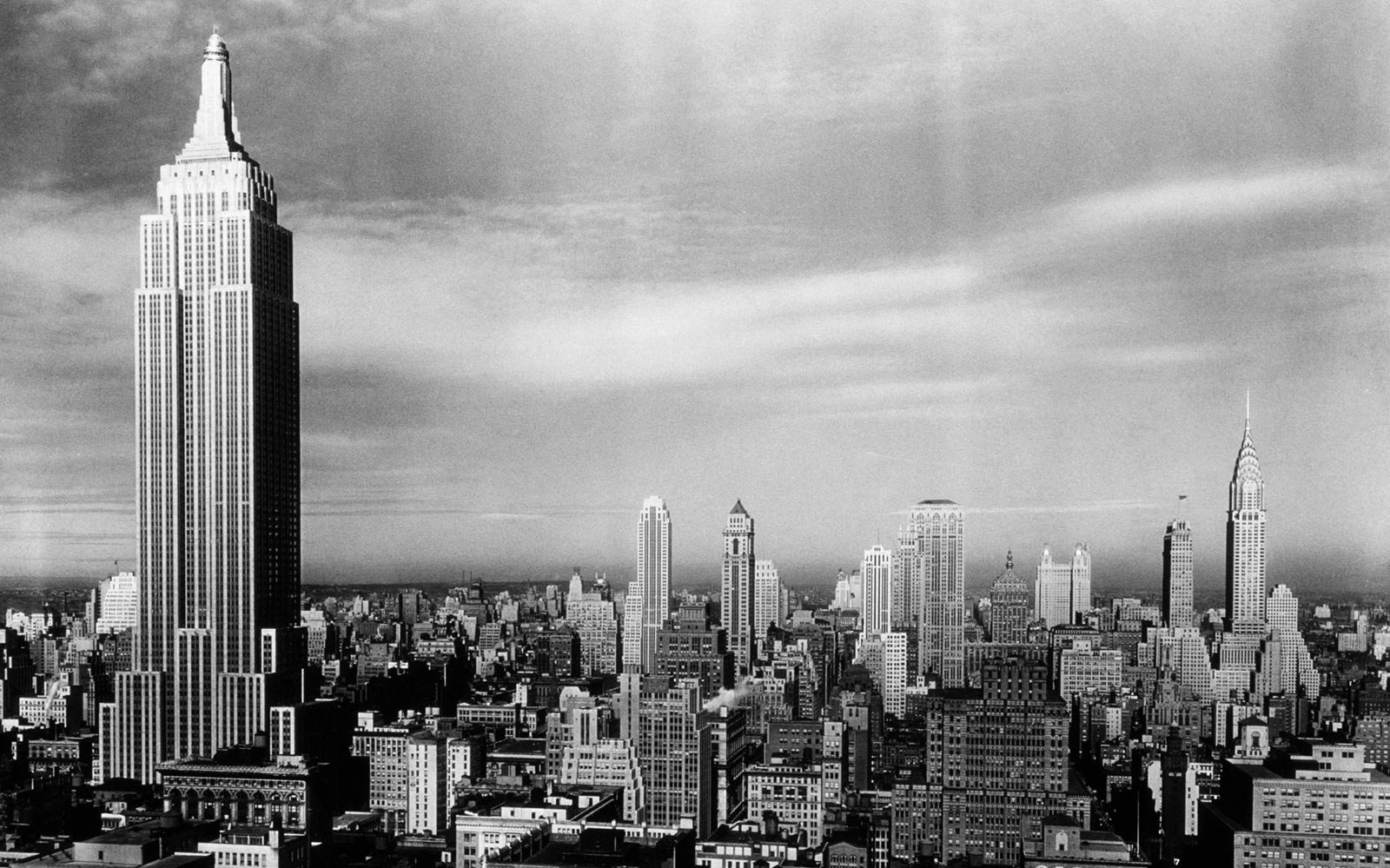 Empire State Building in the 1930s
